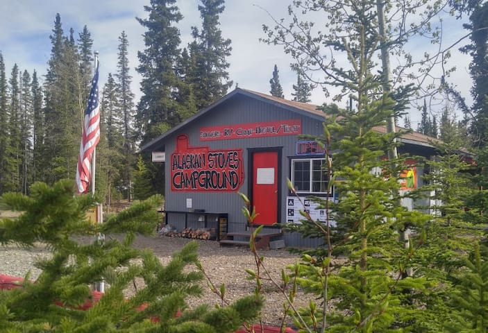 Arctic Tent Bunk-A  Alaskan Stoves Campground