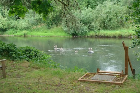 Camp Site: Way Cool Privacy by the River - Creswell - Camper/RV
