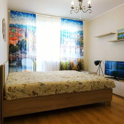 Уютная квартира в окружении соснового бора