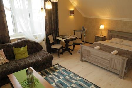 Апартаменты в гостевом доме c террасой - Hus