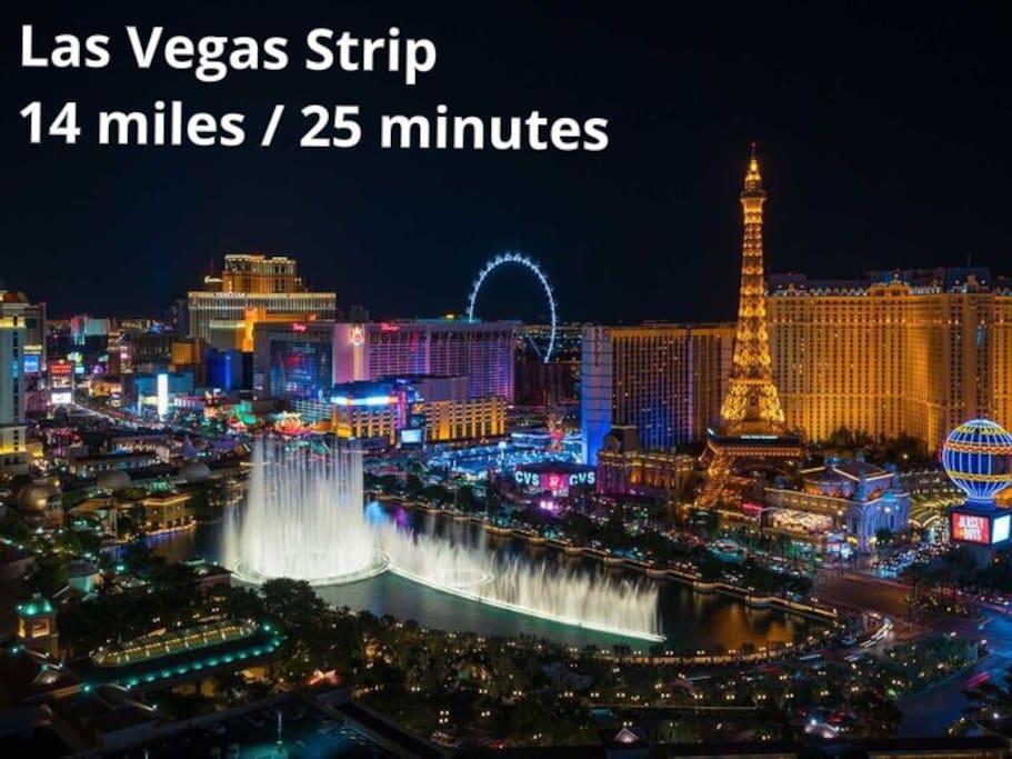Las Vegas Strip - 14 miles / 25 minutes