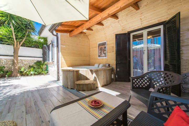 Villa la Bicocca Napoli, solarium, spiaggia, relax