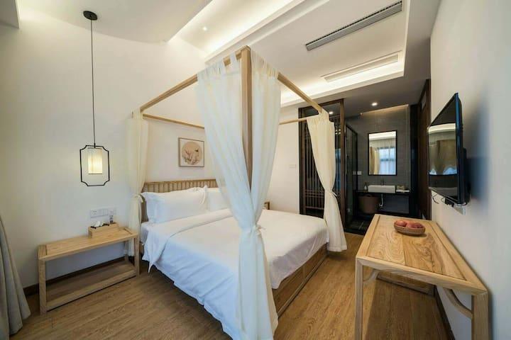 传统床围设计,打造专属空间