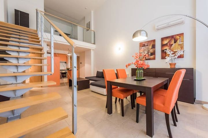 MAGNIFICO LOFT 4 PERSONAS CON PARKING - Madrid - Loft