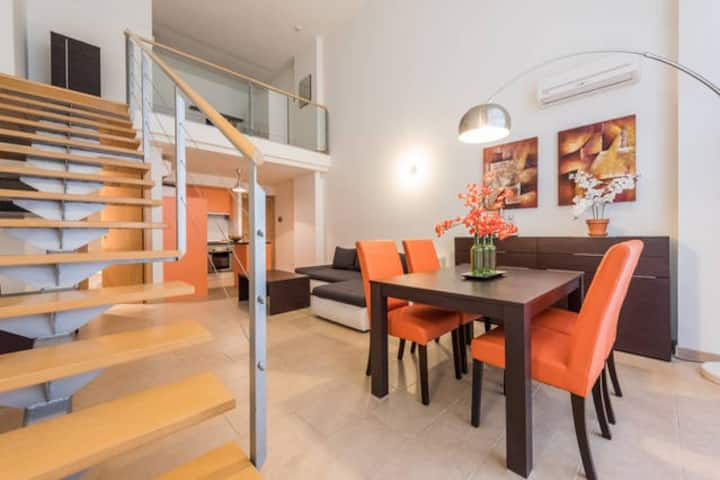 Modern loft with parking 10min from IFEMA by car