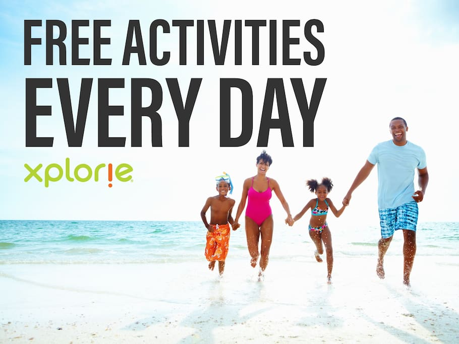 Free daily activities!