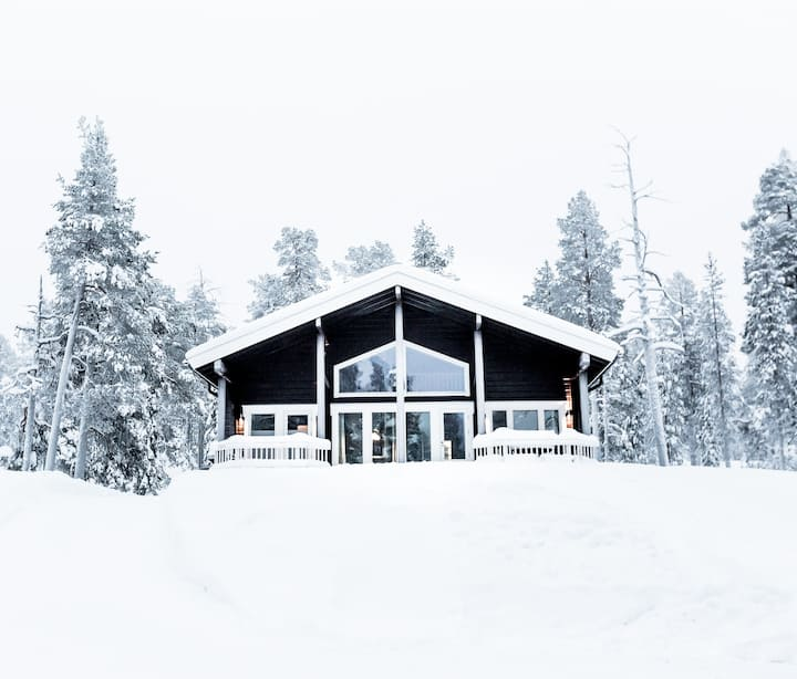 Stylish and modern cottage in Ylläs