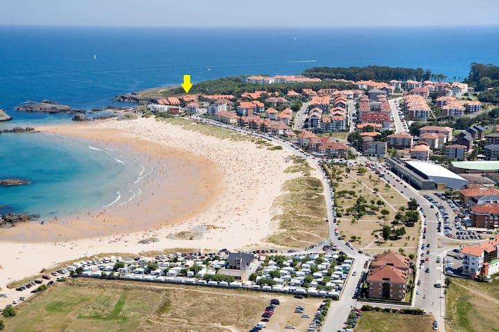 Primera línea de Playa de Ris #NOJA - Noja - Apartamento