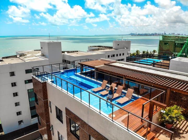 Apartamento Costa Dourada-Praia de Cabedelo