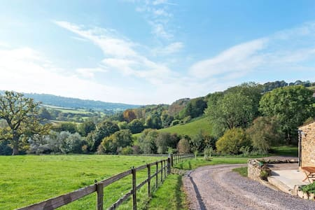 All Yours Slad Valley Views Modern Barn Own Land