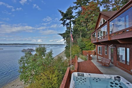 Waterfront Coupeville home with beautiful Penn Cove view (243) - 243