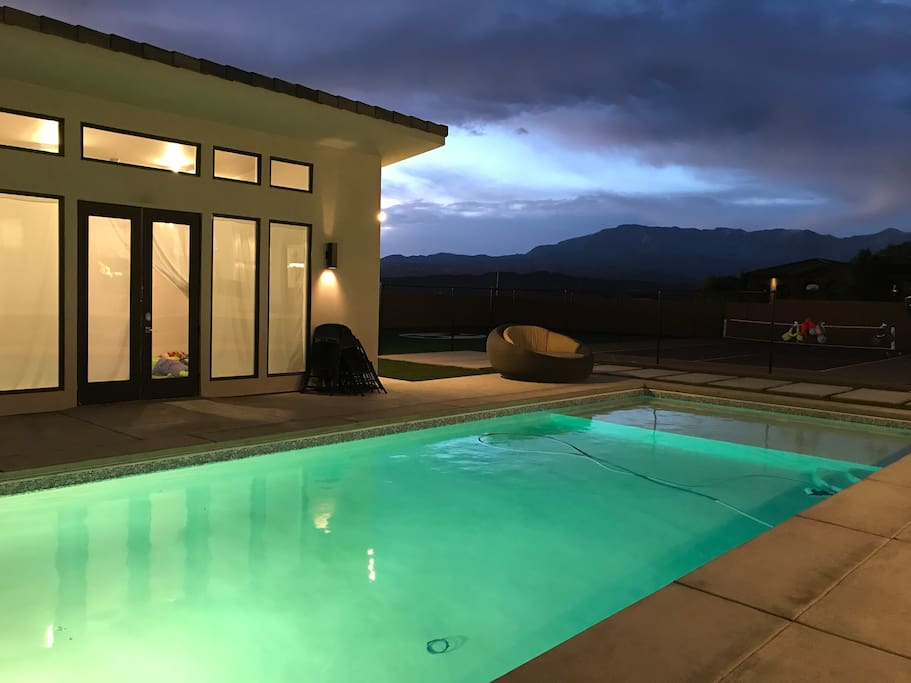 Heated and Lighted Pool