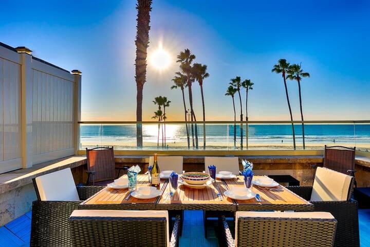 20% OFF THRU FEB! Beach Home on Boardwalk, Incredible Views + Walk to All