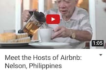 Watch us on YouTube, courtesy of Airbnb.