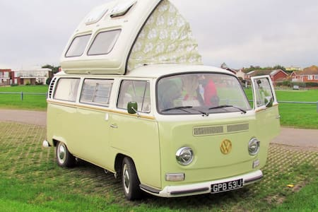 Beryl our classic VW campervan - Newton