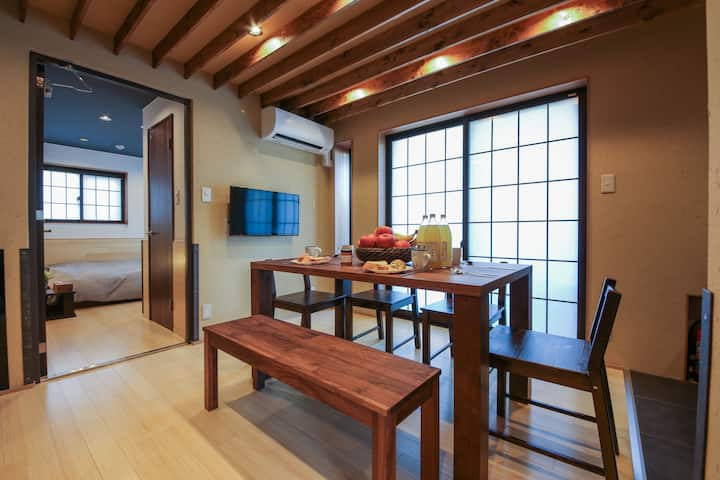 ZEN-Lodge, 2 bedroom private Ryokan, Wa-Modern