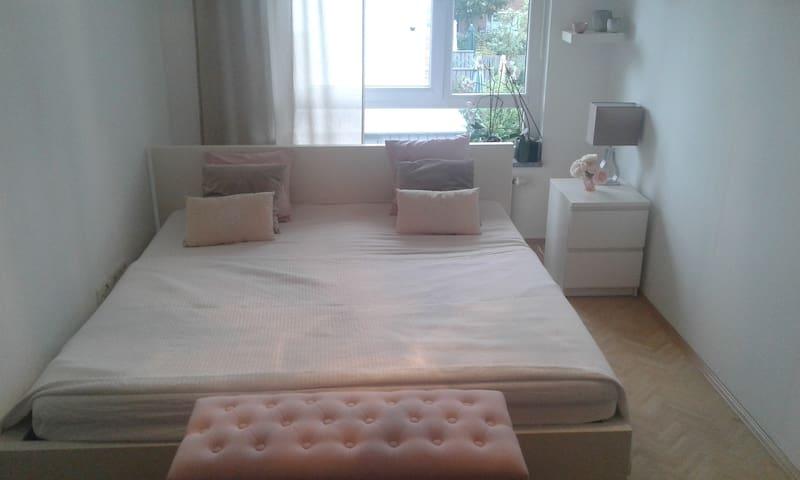 Ruhiges Zimmer im Reihenhaus mit Garten - Hannover - Casa