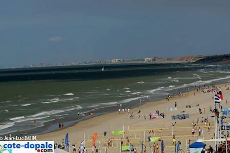 Très jolie maison en bord de plage - Dunkerque - Huis