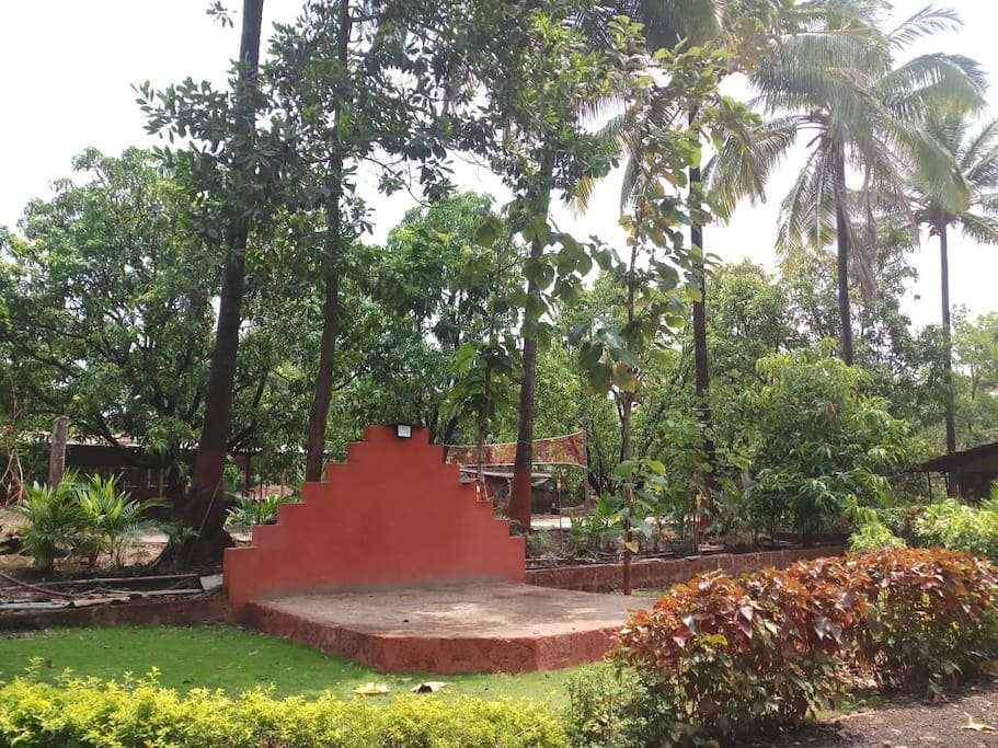 View from one of the Machan