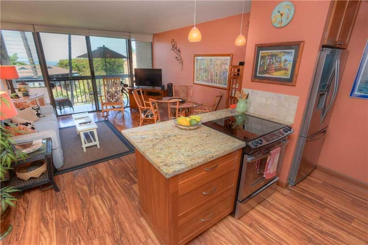 Maui Vista 2310 - Gorgeous 1 Bedroom, Ocean View, 3 Pools - Condo