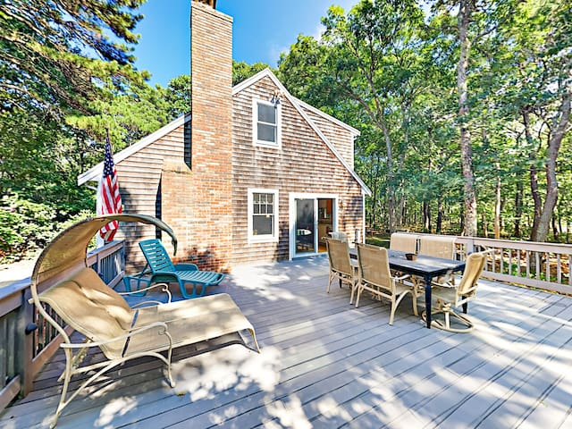 New Listing! Secluded Eastham Cape Cod Getaway