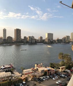 Adorable sunset view on Nile, peaceful, charming