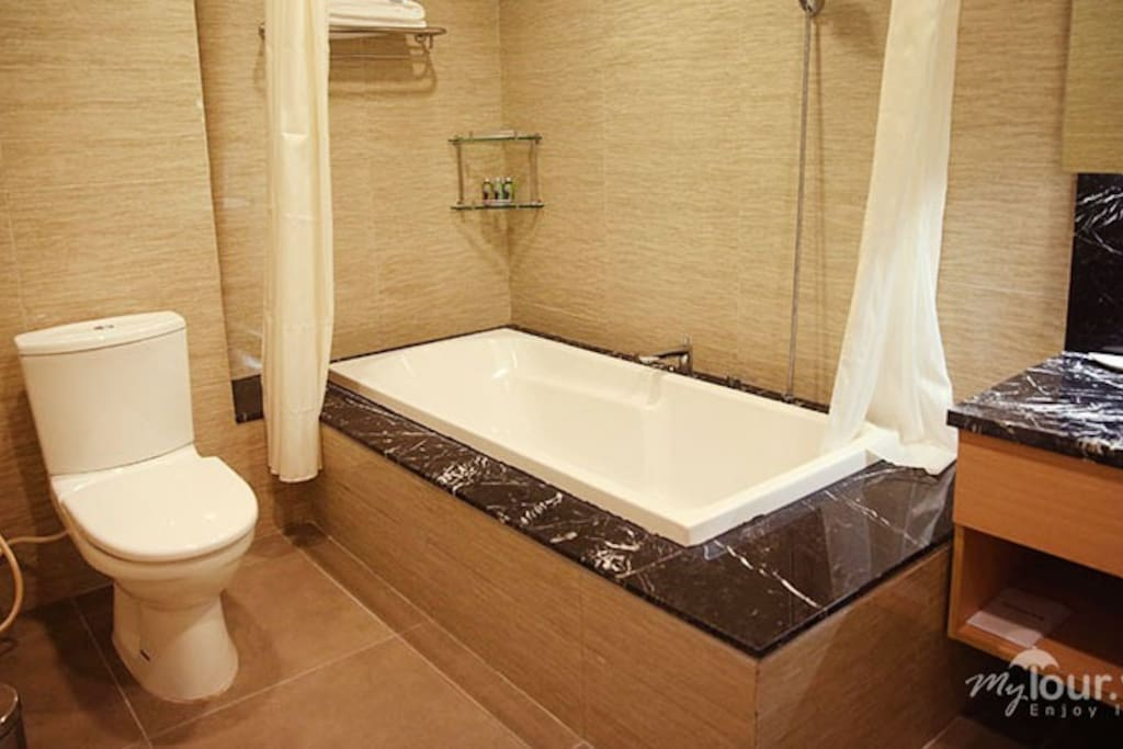 1BR Apartment- Bathroom