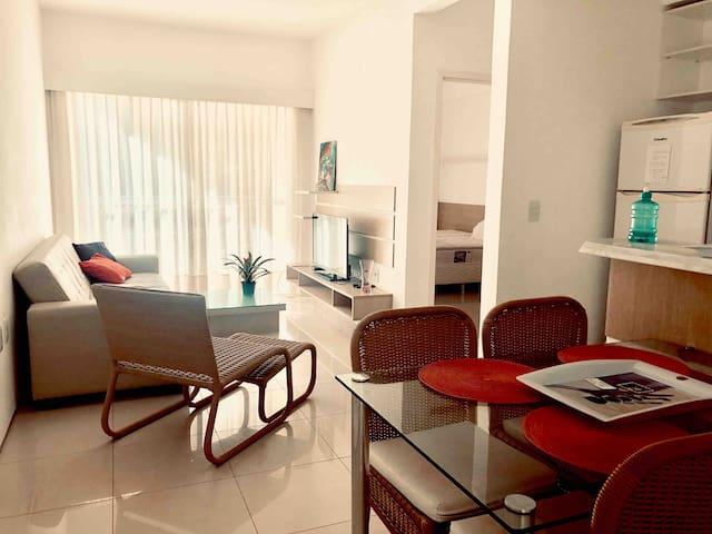 Apartamento 2 quartos no Kite Village Cumbuco