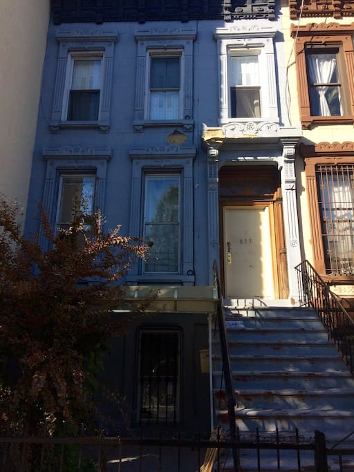 Beautiful, old brownstone in Bed-Stuy, Brooklyn