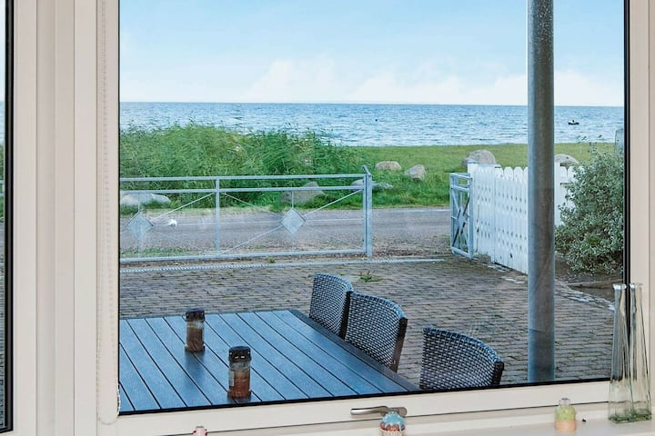 Delightful Holiday Home in Bjert with Sea View