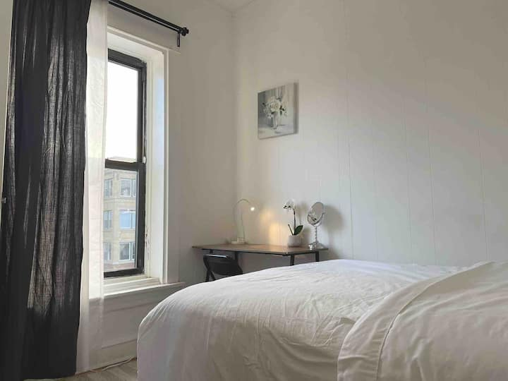#4 Comfy&Convenient Room&Shared bath in Uptown