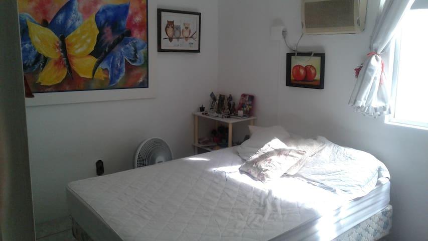Um quarto confortável no Continente. - Abraão - Kondominium