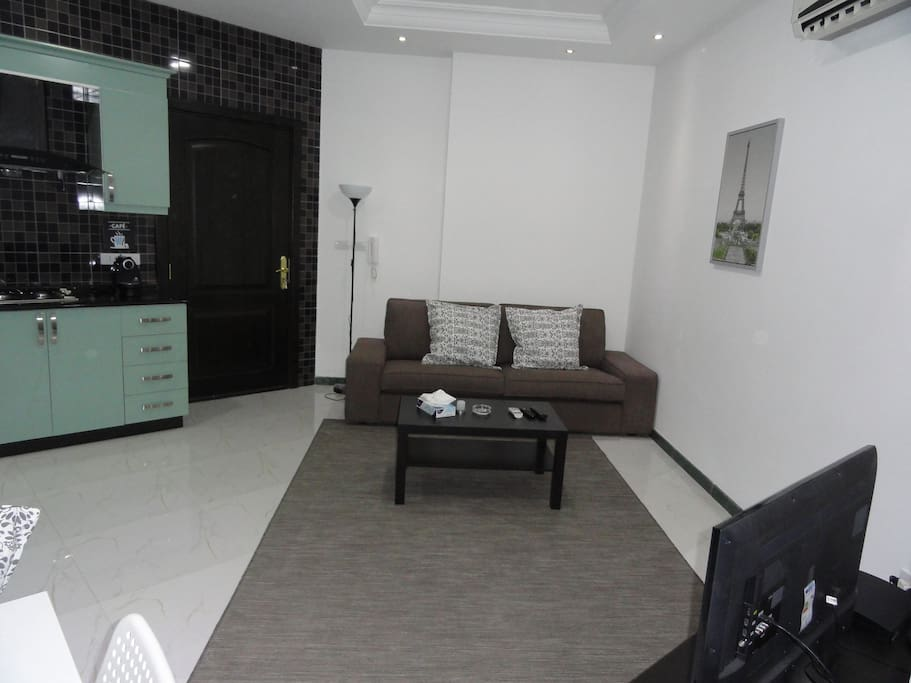 Serene peaceful apt with incredible amenities apartments for Living room amman