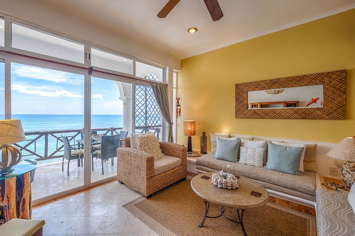 Elegance comfort and style!  2 bedroom beachfront