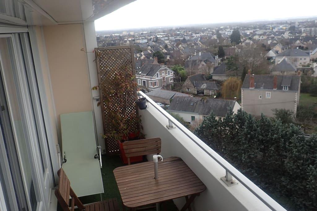 Appartement style contemporain appartementen te huur in angers pays de la loire frankrijk - Foto keuken amenagee ...