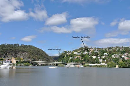 Comfortable 2br flat with view near Cataract Gorge - Trevallyn
