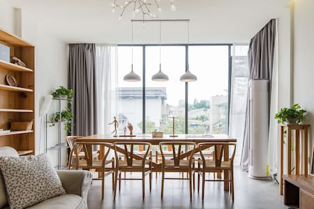 《草舍》:原木风格、诗情画意的Loft双层顶跃大房