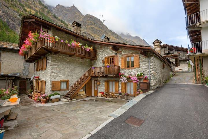 Casa di Montagna immersa nel Parco - Rovenaud - Apartament