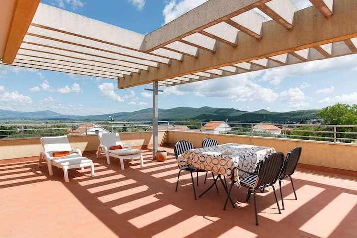 Promona apartman with a huge terrace
