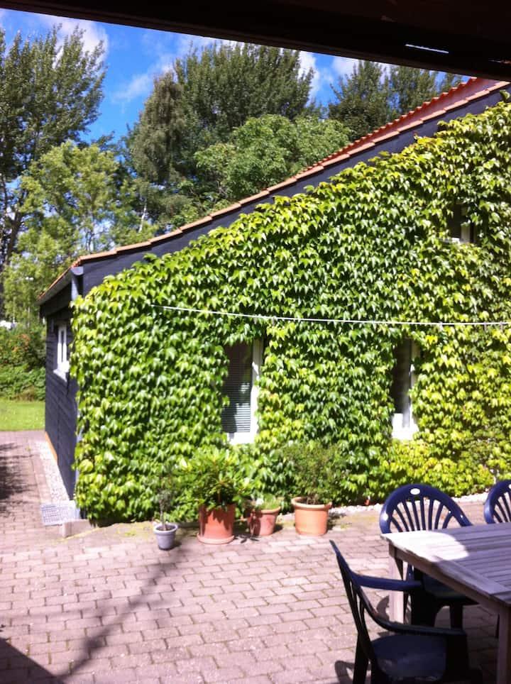 Moderne lille bolig i Svendborg by