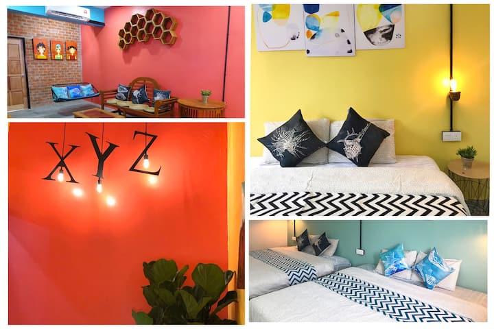XYZ Home 8 Pax 毗邻夜市/免税店