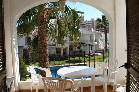 2 bedroom apartment with pool views in La Manga