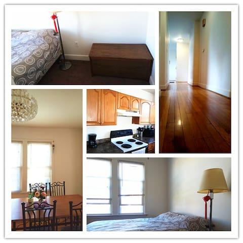 Private room in a 2-bedroom condo