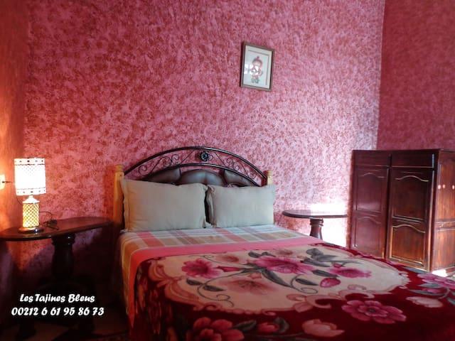 4 Chambres confortables et très calmes