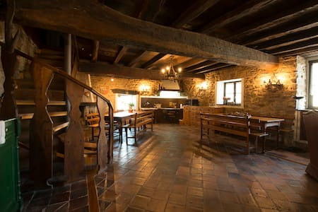 1.Traditional house in area Gorbea, Basque Country