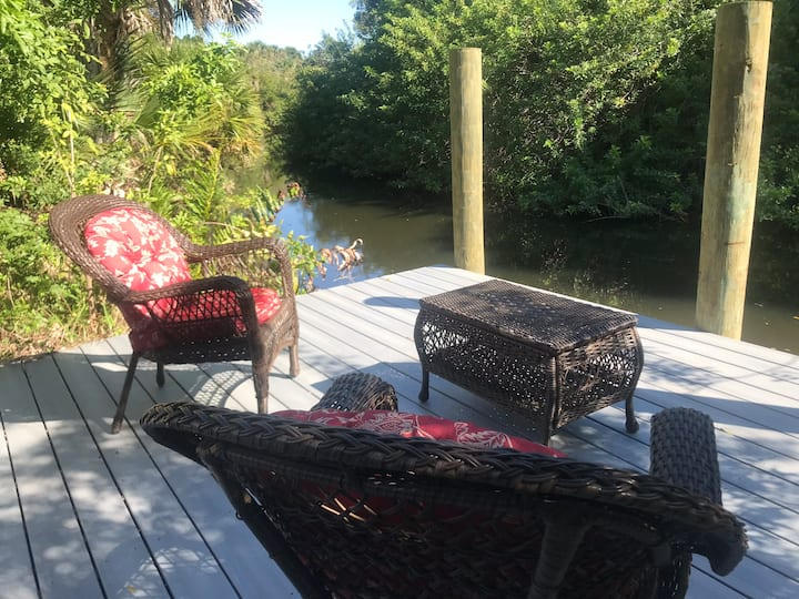 Floridian Home on a Canal!