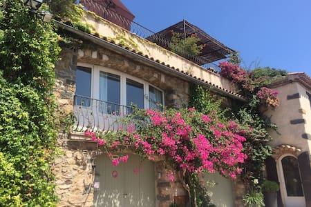 Maison au pied des remparts - Grimaud