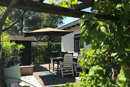 Cosy chalet near by the beach and the forest (bos)
