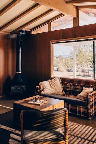 Midcentury Prefab Homesteader Cabin