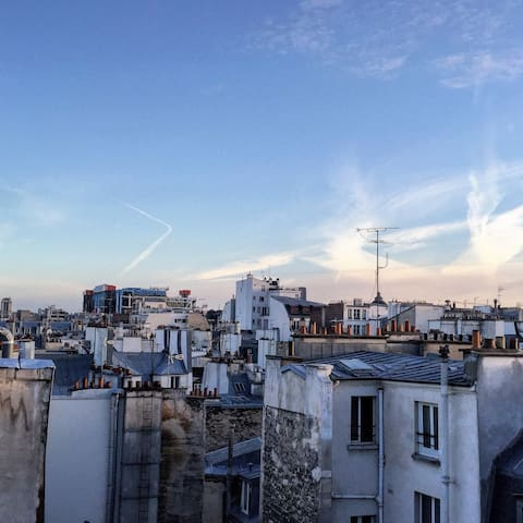 Charming flat with a great view in Le Marais